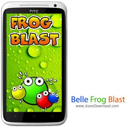 دانلود Belle Frog Blast v1.0 - بازی موبایل حمله قورباقه های رنگی