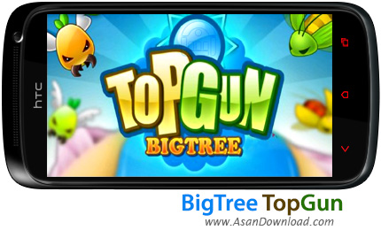 دانلود BigTree TopGun - بازی موبایل حمله حشرات