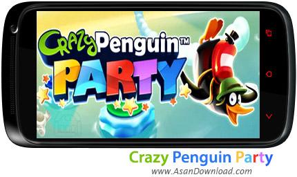 دانلود Crazy Penguin Party v1.0 - بازی موبایل پنگوئن دیوانه