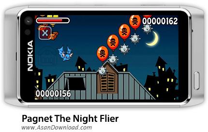 دانلود Pagnet The Night Flier v.1.01 - بازی موبایل پرواز خفاشها در شب