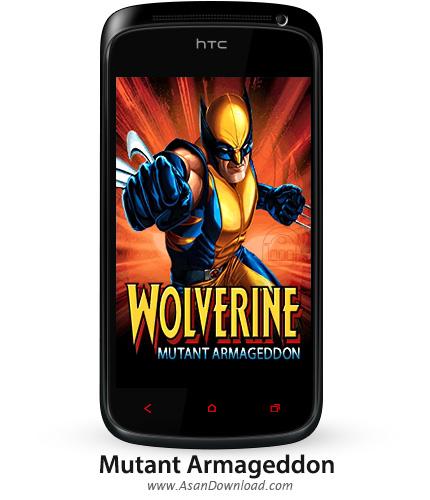 دانلود Wolverine Mutant Armageddon v1.01.2 - بازی موبایل ابرقهرمان