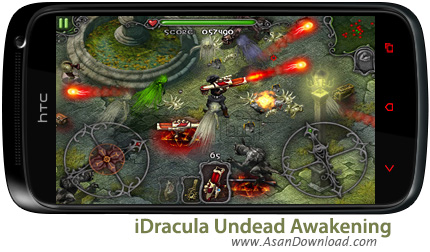 دانلود iDracula Undead Awakening - بازی موبایل شکار خون آشام ها