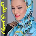 روسری نخی Miss smart کد 55 سبک و زیبا با ابعاد بزرگ
