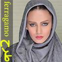 روسری طرح ferragamo پاییزه با جنسی عالی و ابعاد بزرگ