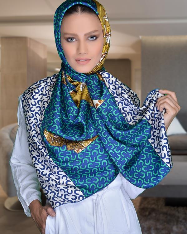 روسری Hermes با ابعاد بزرگ و کیفیت فوق العاده بالا