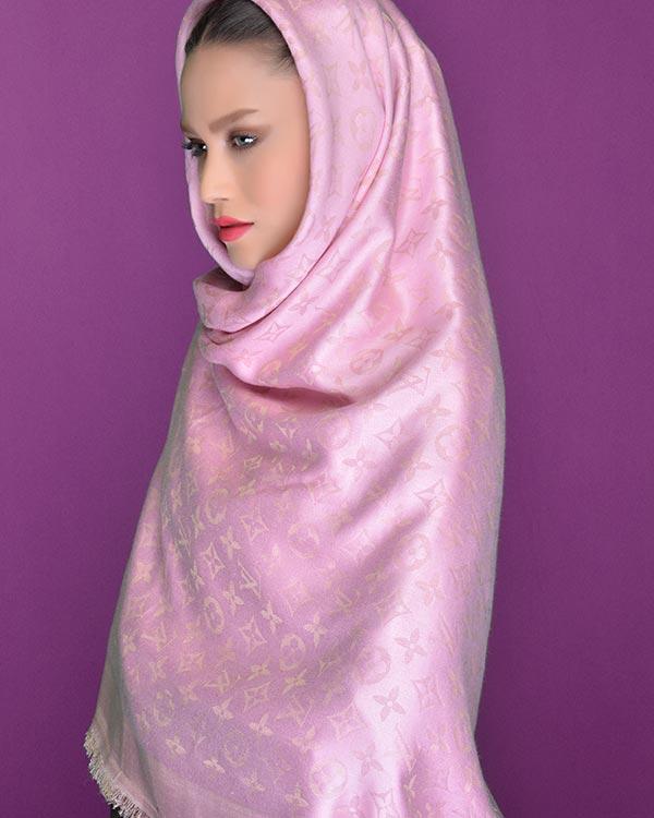 مانتوبلند مانتودامن مدل-بستن-روسری-قواره-بلند