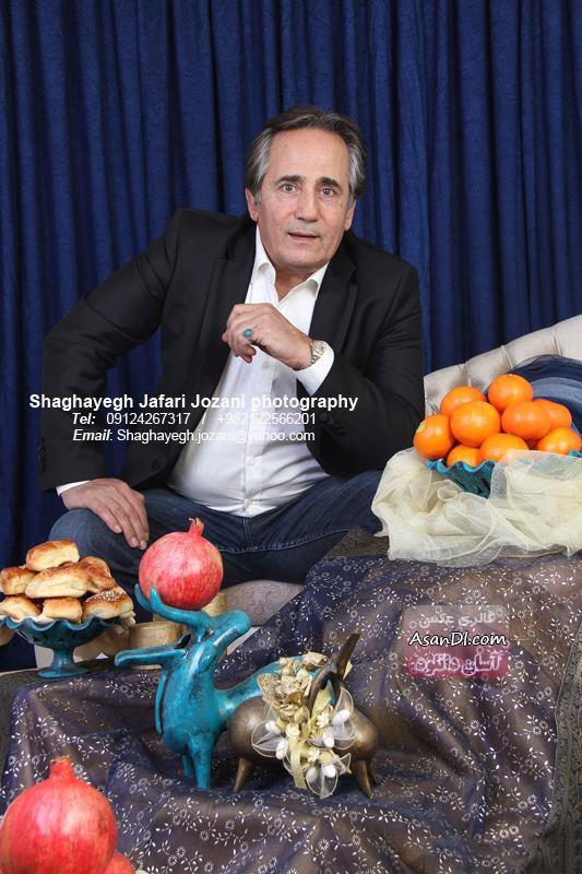 تصاویری منتخب از بازیگران در شب یلدا - قسمت اول