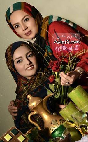 تصاویری منتخب از بازیگران زن سینما در کنار هفت سین - قسمت دوم