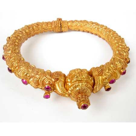 مدل های جدید النگو طلا هندی زنانه و دخترانه - قسمت دوم