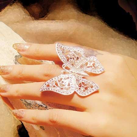مدل های جدید انگشتر قشن زنانه و دخترانه - قسمت دوم