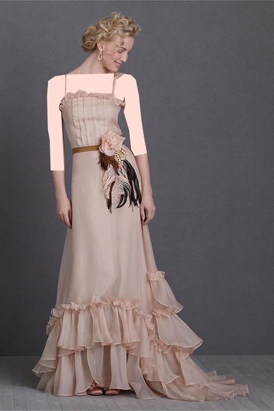 جدیدترین مدل های لباس عروس اروپایی 2014