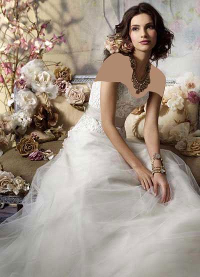 جدیدترین مدل های لباس عروس در سال 2014 - قسمت دوم