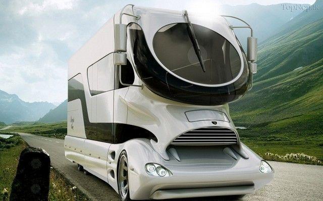 تصاویری از مدرن ترین اتوبوس جهان