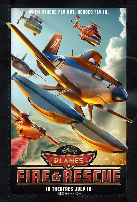 دانلود انیمیشن سینمایی هواپیماها 2: آتش و نجات با لینک مستقیم