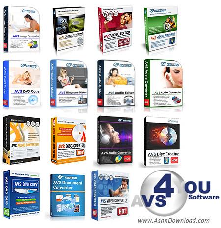 دانلود All AVS4YOU Software in 1 Installation Package v2.5.1.113 - مجموعه ای بی نظیر از نرم افزارهای شرکت AVS4YOU