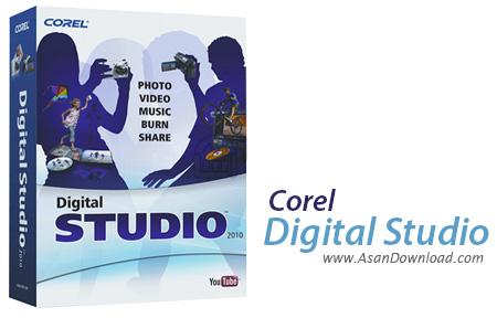 دانلود Corel Digital Studio 2010 - نرم افزار مدیریت فایل های چندرسانه ای
