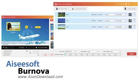 دانلود Aiseesoft Burnova v1.3.22 - نرم افزار رایت لوح های فشرده