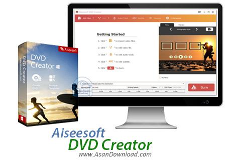 دانلود Aiseesoft DVD Creator v5.2.30 - نرم افزار رایت DVD فیلم