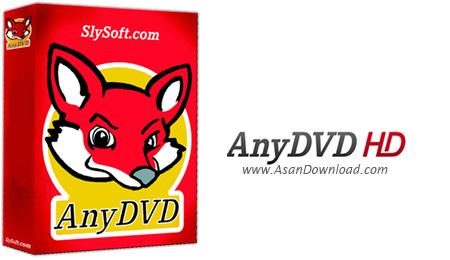 دانلود RedFox AnyDVD HD v8.1.0.0 - نرم افزار کپی انواع DVD های قفل دار