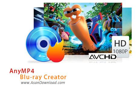 دانلود AnyMP4 Blu-ray Creator v1.1.38 - نرم افزار ساخت دیسک های بلوری