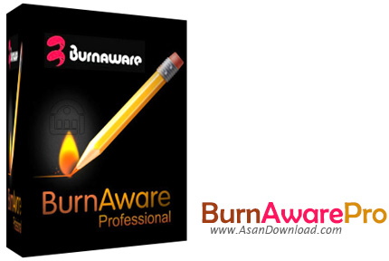 دانلود BurnAware Professional v10.1 - نرم افزار رایت سی دی و دی وی دی