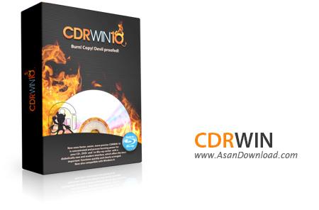 دانلود CDRWIN v10.0 - نرم افزار رایت لوح های فشرده