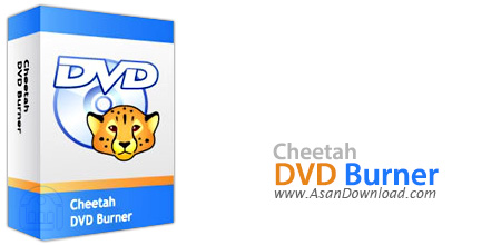 دانلود Cheetah DVD Burner v2.57 - نرم افزار رایت سریع سی دی و دی وی دی