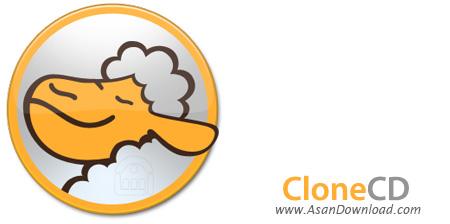 دانلود CloneCD v5.3.4.0 - نرم افزار رایت سی دی های قفل دار و خش دار