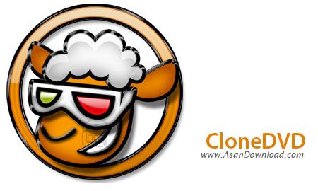 دانلود CloneDVD2 v2.9.3.3 - نرم افزار کپی لوح های فشرده