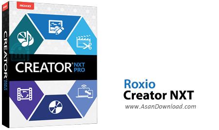 دانلود Corel Roxio Creator NXT Pro 6 v19.0.55.0 - نرم افزار رایت، کپی و تهیه پشتیبان از اطلاعات بر روی CD/DVD