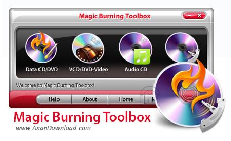 دانلود Magic Burning Toolbox v5.5.1 - نرم افزار رایت سی دی و دی وی دی