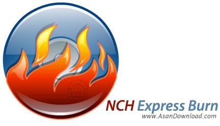 دانلود NCH Express Burn Plus v6.00 - نرم افزار رایت آسان لوح های فشرده