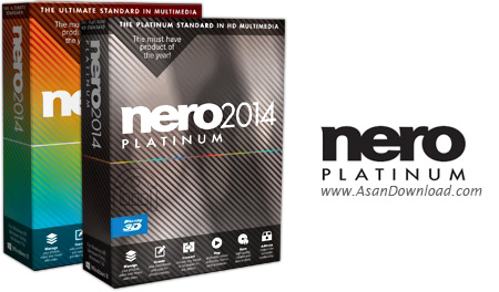 دانلود Nero 2015 Platinum v16.0.05000 + Content Pack + Nero Burning ROM v16.0.02700 + Nero Express v16.0.21000 - مجموعه ابزارهای نرو