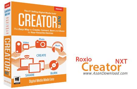 دانلود Roxio Creator NXT - نرم افزار رایت اطلاعات برروی CD و DVD