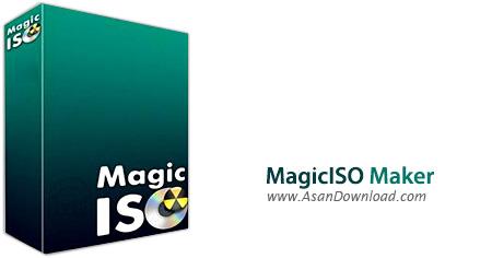 دانلود MagicISO Maker v5.5 Build 281 - نرم افزار مدیریت فایل های ایمیج