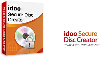 دانلود Idoo Secure Disc Creator v6.0.0 - نرم افزار رمزگذاری بر روی دی وی دی