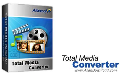 دانلود Aiseesoft Total Media Converter v7.1.20 + Platinum v6.3.50.23335 - نرم افزار مبدل فایل های مالتی مدیا