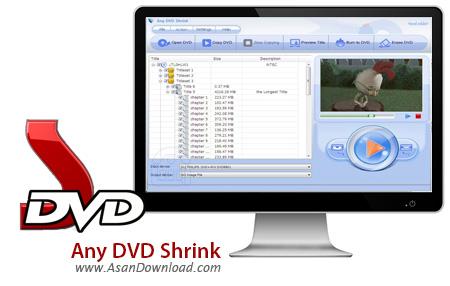 دانلود Any DVD Shrink v1.4.1 - نرم افزار تهیه نسخه پشتیبان از DVD ها
