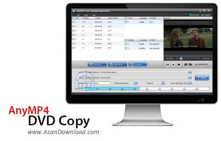 دانلود AnyMP4 DVD Copy v7.1.8 - نرم افزار کپی فیلم های دی وی دی