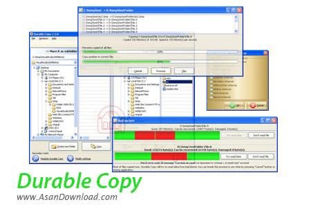 دانلود Durable Copy v3.9.0.839 - نرم افزار کپی دیسک های خش دار