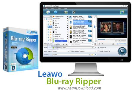 دانلود Leawo Blu-ray Ripper v7.1.0.8 - نرم افزار مبدل دیسک های بلوری