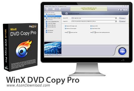 دانلود WinX DVD Copy Pro v3.9.0 - نرم افزار کپی DVD ها