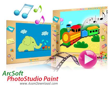 دانلود ArcSoft PhotoStudio Paint v1.6.1.107 - دفتر نقاشی دیجیتالی
