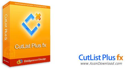 دانلود CutList Plus fx v12.5.3 Platinum Edition - نرم افزار برش ورق به صورت بهینه با کمترین دور ریز