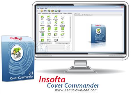 دانلود Insofta Cover Commander v5.5.1 - نرم افزار طراحی باکس و کاور