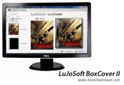 دانلود LuJoSoft BoxCover II - نرم افزار طراحی و ساخت کاور