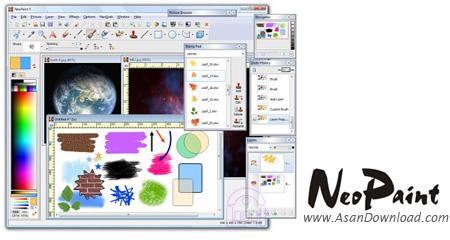 دانلود NeoPaint v5.0.0 - نرم افزار طراحی و نقاشی