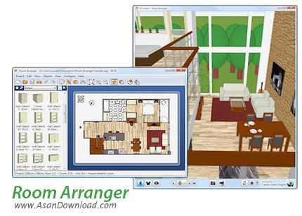 دانلود Room Arranger v9.5.4.612 - نرم افزار طراحی چیدمان دکوراسیون