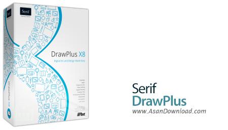 دانلود Serif DrawPlus X8 v14.0.1.21 - نرم افزار طراحی و نقاشی به صورت حرفه ای