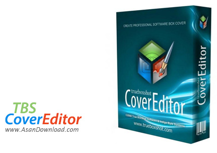 دانلود TBS Cover Editor v2.6.5327 - نرم افزار طراحی و ساخت جعبه های 3 بعدی